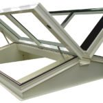 Double glazed roof hatch